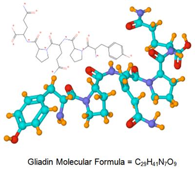 Gliadin Molecular Formuala