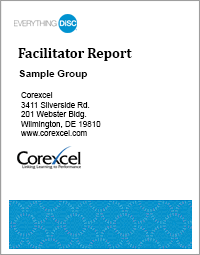 Everything DiSC Management Facilitator Report