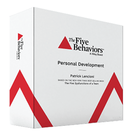 Five Behaviors Personal Development Facilitator Kit