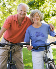 Later life can also mean having more leisure time.