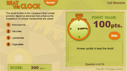 Example interactive game for Corexcel's online Anatomy & Physiology course