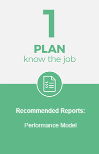 Plan and know the job position.
