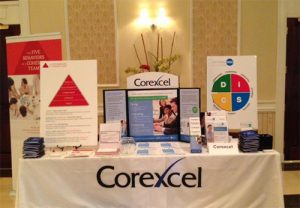 Corexcel Booth at Delaware Networking Station 2019